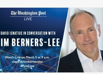 David Inácio do Washington Post conversa com Tim Berners-Lee
